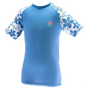 Girls Surf UV Sun Protection Rash Vest UPF 50+